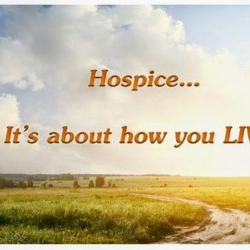 Death is Eros – A Hospice Love Affair